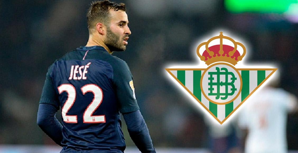 Jesé Rodríguez volvería a La Liga para jugar Lainez y Guardado en el Betis