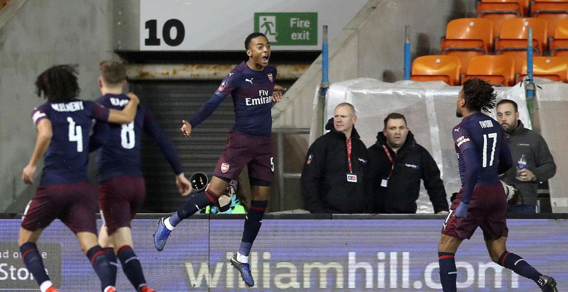 Joe Willock, joven de 19 años, guió la victoria del Arsenal en la FA Cup