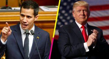 Trump analiza reconocer a Juan Guaidó como presidente legítimo de Venezuela, según CNN