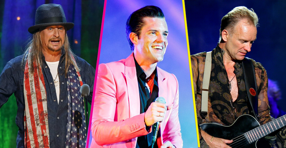 The Killers, Kid Rock, y Sting, entre los headliners del festival Kaaboo Texas 2019