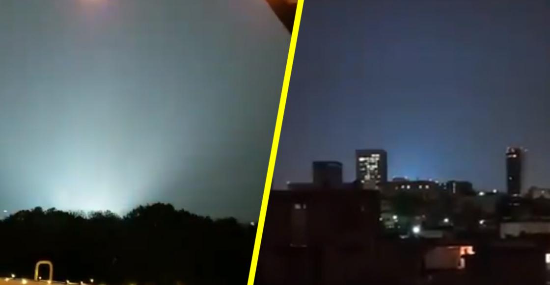 ¿Qué fue lo que provocó las luces extrañas en el cielo que se vieron en la CDMX?