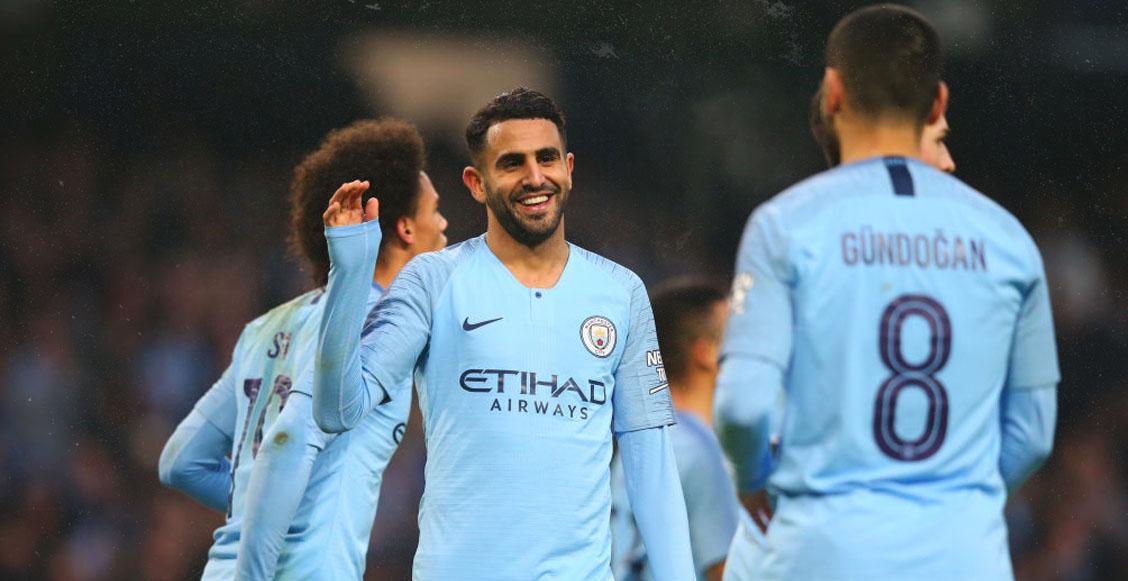 Manchester City aplastó con siete goles al Rotherham United