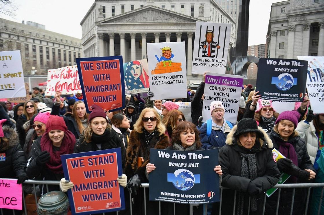 Marcha de las mujeres - Movimientos en todo Estados Unidos