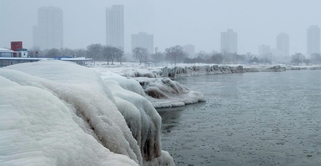 En imágenes: Fotos y videos del frío ártico en Estados Unidos que te pondrán la piel chinita