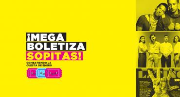 ¡Te llevamos a Arctic Monkeys, Twenty One Pilots, y el Vive Latino en la megaboletiza de Sopitas.com!