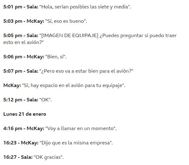 Agente que contrató avioneta para Emiliano Sala, reveló mensajes de texto previo a su desaparición