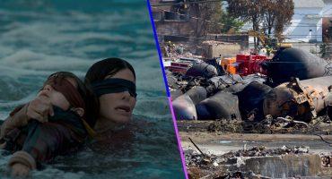 Critican a Netflix por usar imágenes y videos reales de desastre para 'Bird Box'