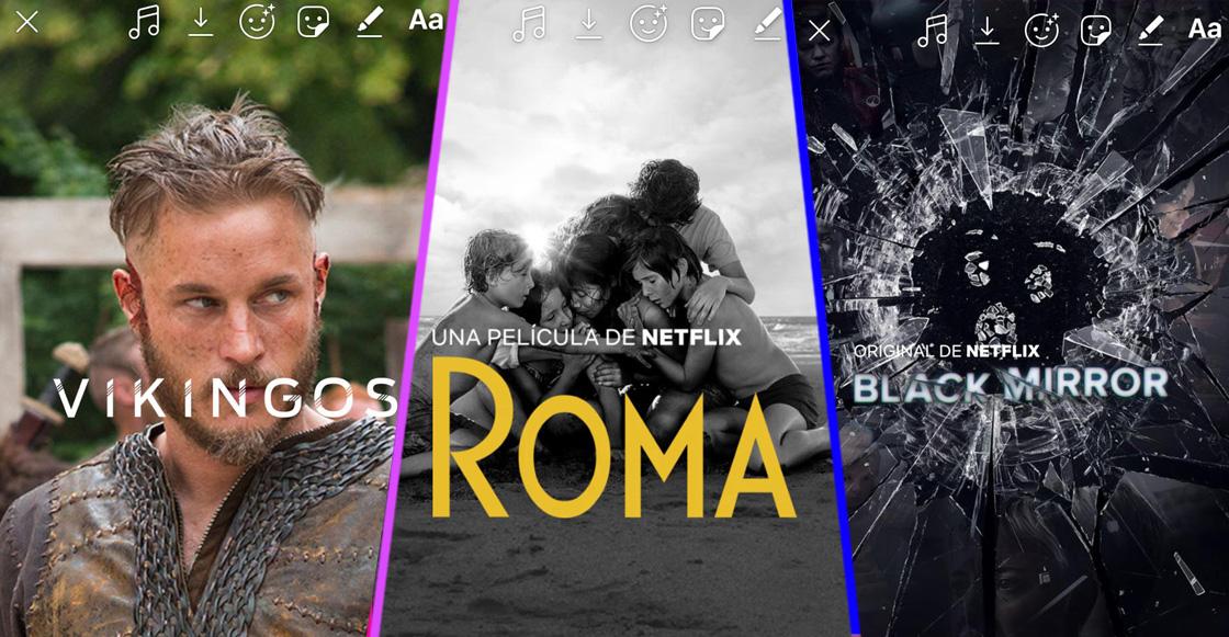 Netflix activa la opción de compartir su contenido en las Stories de Instagram