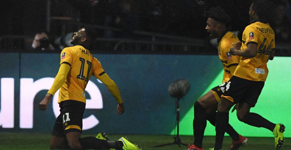 ¡Tómala papá! Newport Country, equipo de cuarta división, despachó al Leicester en la FA Cup