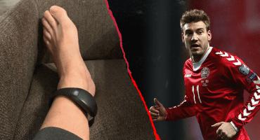 La tobillera electrónica que seguirá los pasos de Bendtner mientras cumple su condena