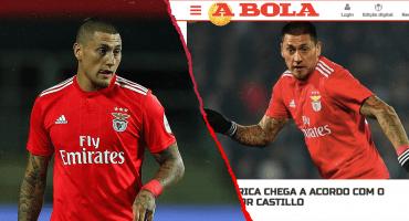 Aseguran en Portugal que Nicolás Castillo firmará este jueves con el América