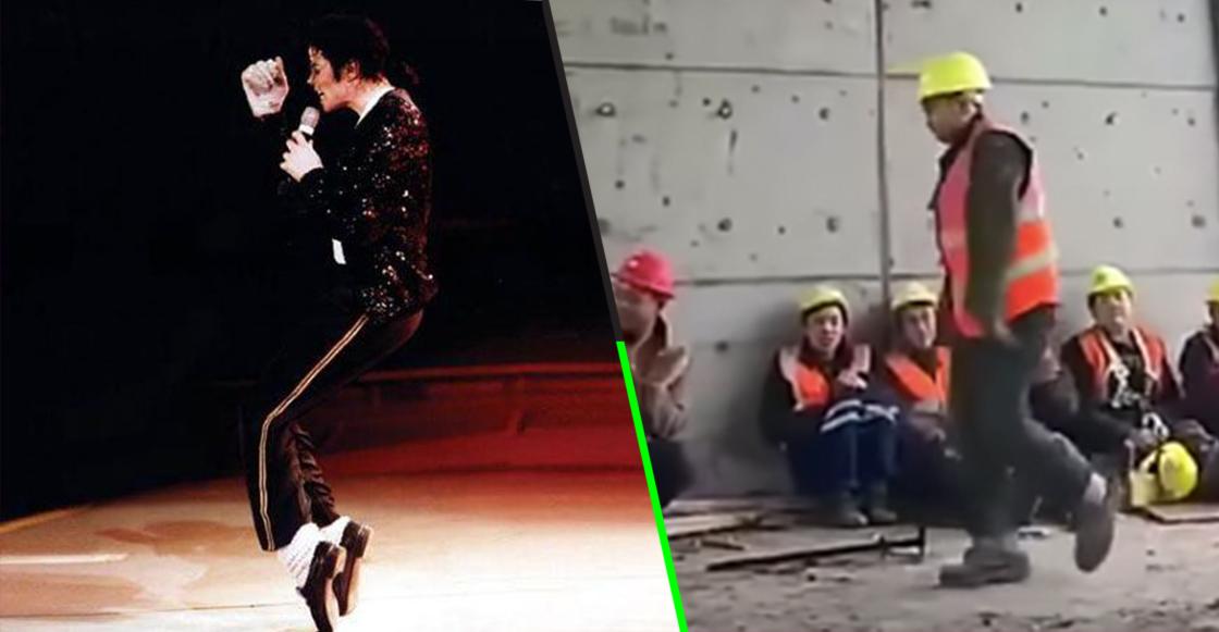 Este obrero se ganó el amor del mundo por bailar igual que Michael Jackson
