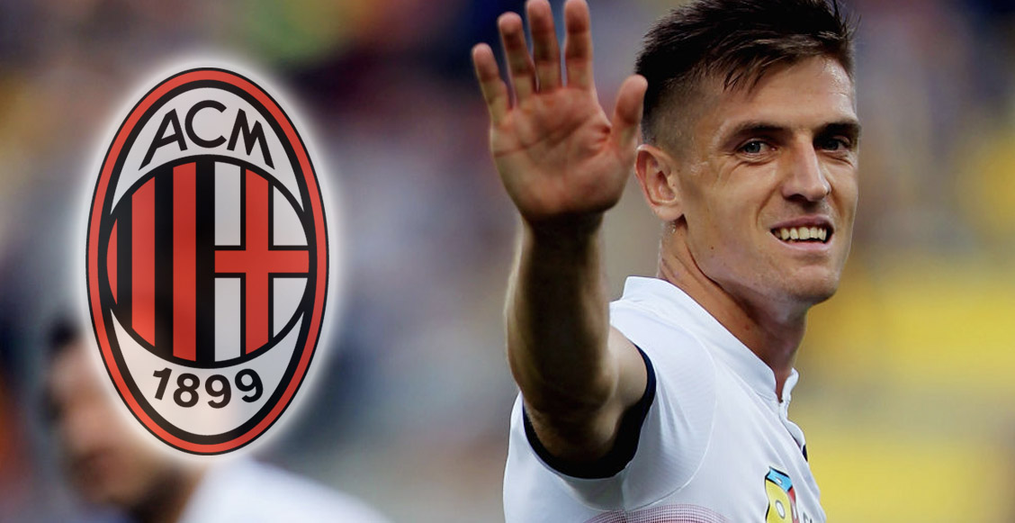 ¡'Rossoneri' goleador! Milan hace oficial el fichaje de Krzysztof Piatek