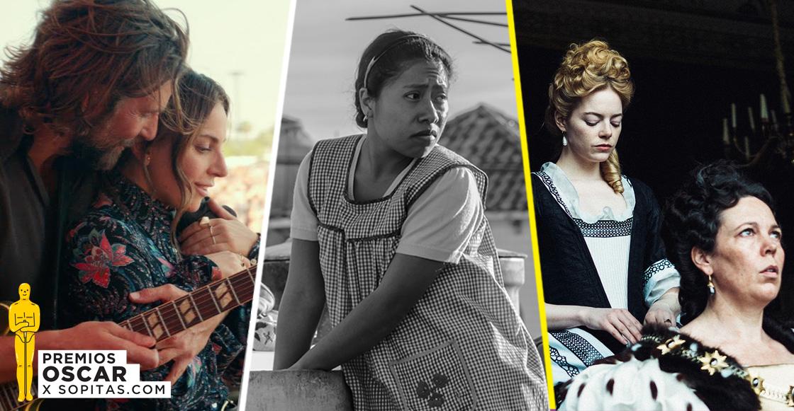 Estos son los nominados a los premios Oscar 2019