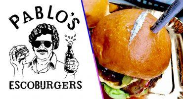 ¿Escoburgers? Alguien inventó hamburguesas de Pablo Escobar y no a todos les dio risa