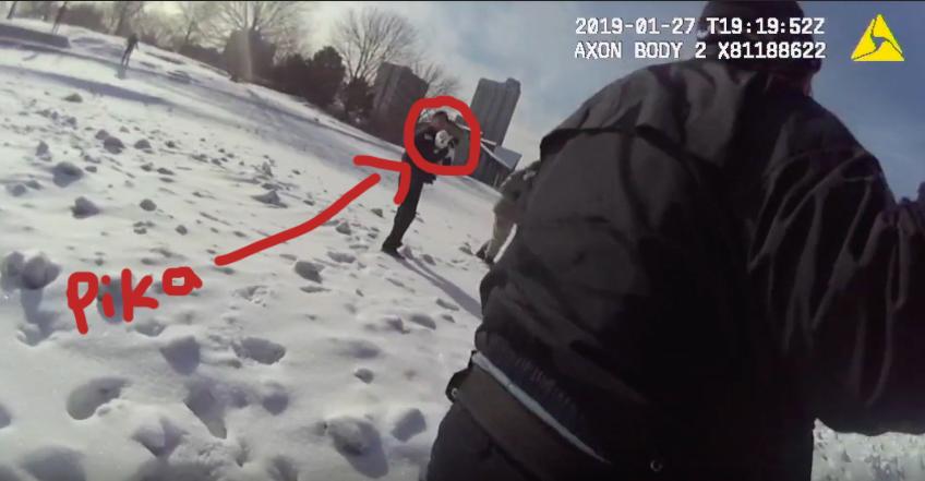 ¡Héroes! Estos policías rescataron a un hombre y a su perrita que cayeron en aguas heladas