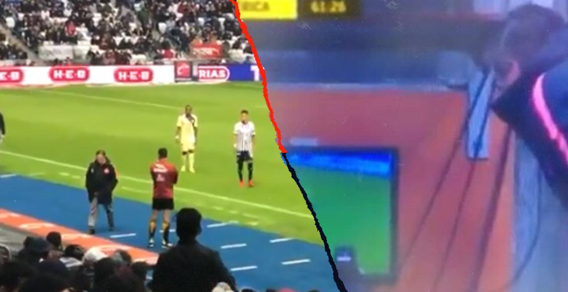 Miguel Herrera es señalado por mirar la pantalla del VAR