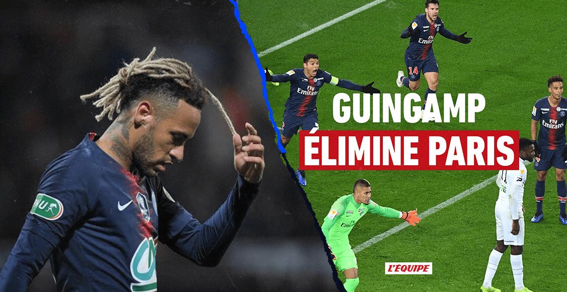 El peor equipo de Francia elimina al PSG de la Copa de la Liga