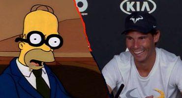 ¡Épico! Rafael Nadal trolleó a periodista que se quedó dormido en su conferencia