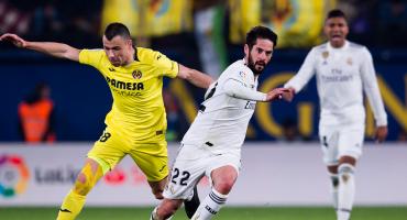 Villarreal y Layún le ponen el pie al Madrid en su primer juego del año
