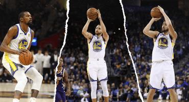 Abran paso al nuevo récord de triples en la historia de la NBA