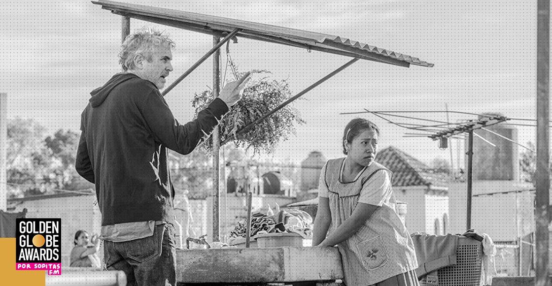 'ROMA' y Alfonso Cuarón hacen historia en los Golden Globes 2019