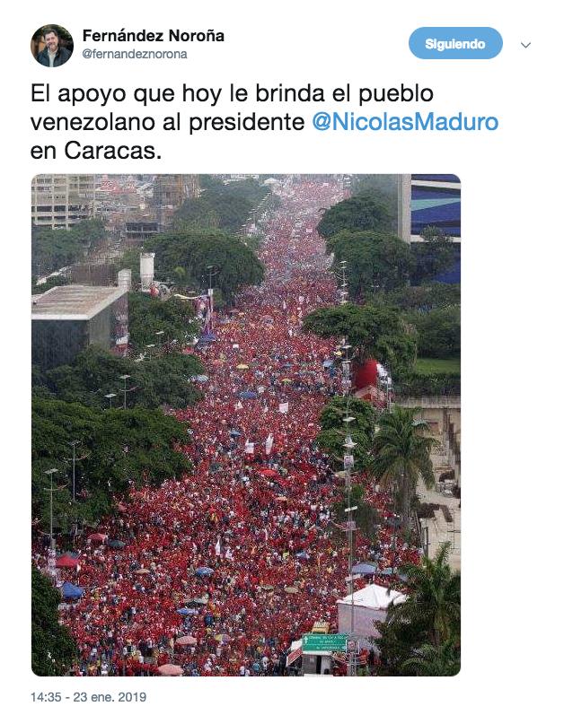 screenshot-nicolas-maduro-fernandez-noroña-venezuela