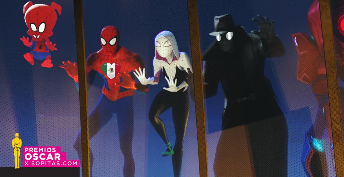 ¡No fueron dos! Ellos son los 24 mexicanos ganadores en 'Spider-Man: Into the Spider-Verse'
