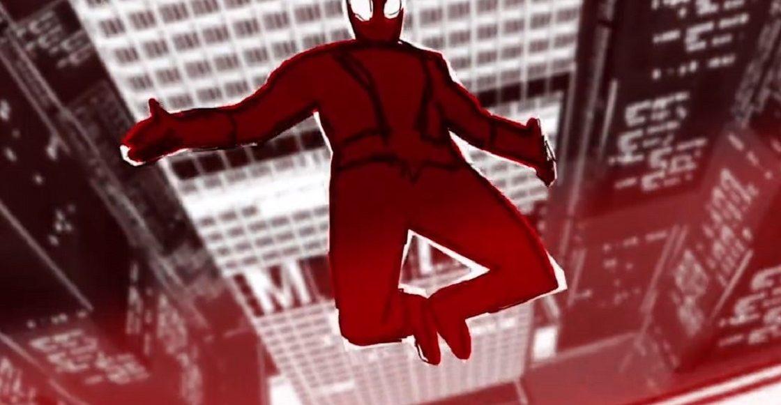 Spider-Ma: Into the Spider-Verse - Storyborards