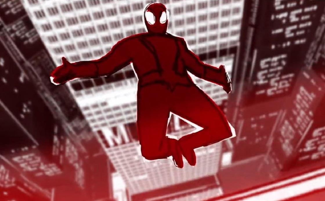 Los bocetos de Spider-Man: Into the Spider-Verse son toda una obra de arte