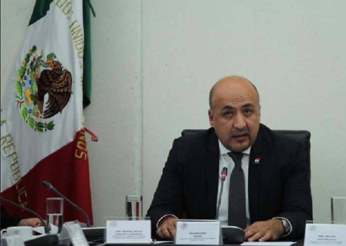 subsecretario para la región de América Latina y e Maximiliano Reyes Zúñiga