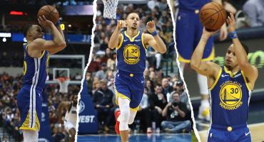 Curry regala otra noche de ensueño con 48 puntos y 11 triples 😱