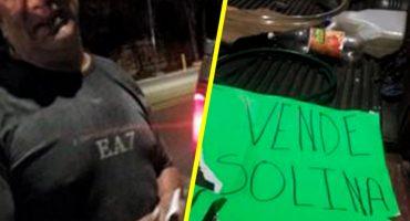 Va el primero: Detienen en la CDMX a sujeto que vendía gasolina ilegalmente