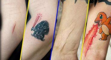 13 imágenes de cicatrices que se convirtieron en arte gracias a un tatuaje