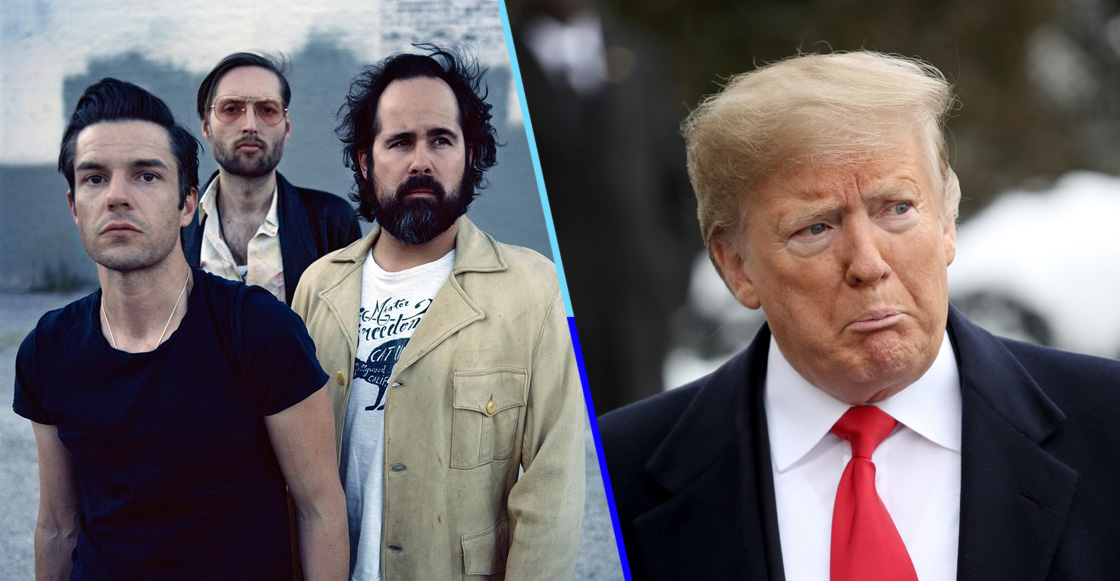 The Killers critica a Trump en su nueva canción