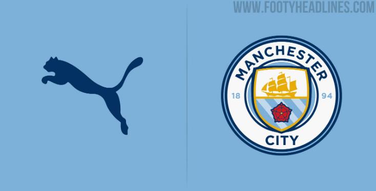 Puma vestirá al Manchester City la siguiente temporada y así serían los uniformes