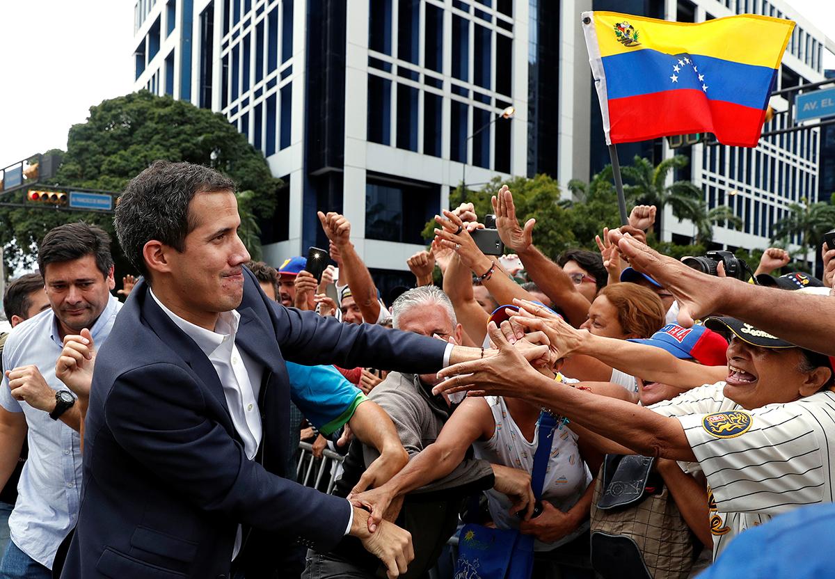 Gobierno de Maduro rechaza ultimátum de la UE, Guaidó convoca a marchas para exigir apoyo militar