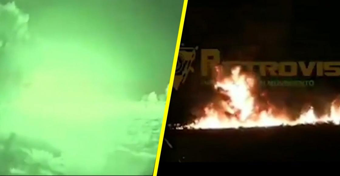 El video que capta el momento exacto de la explosión en Tlahuelilpan, Hidalgo