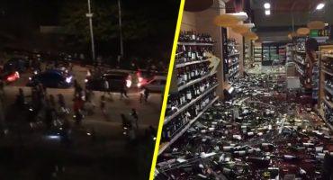 Caos y sin luz: los videos que muestran cómo se vivió el terremoto de 6.7 en Chile