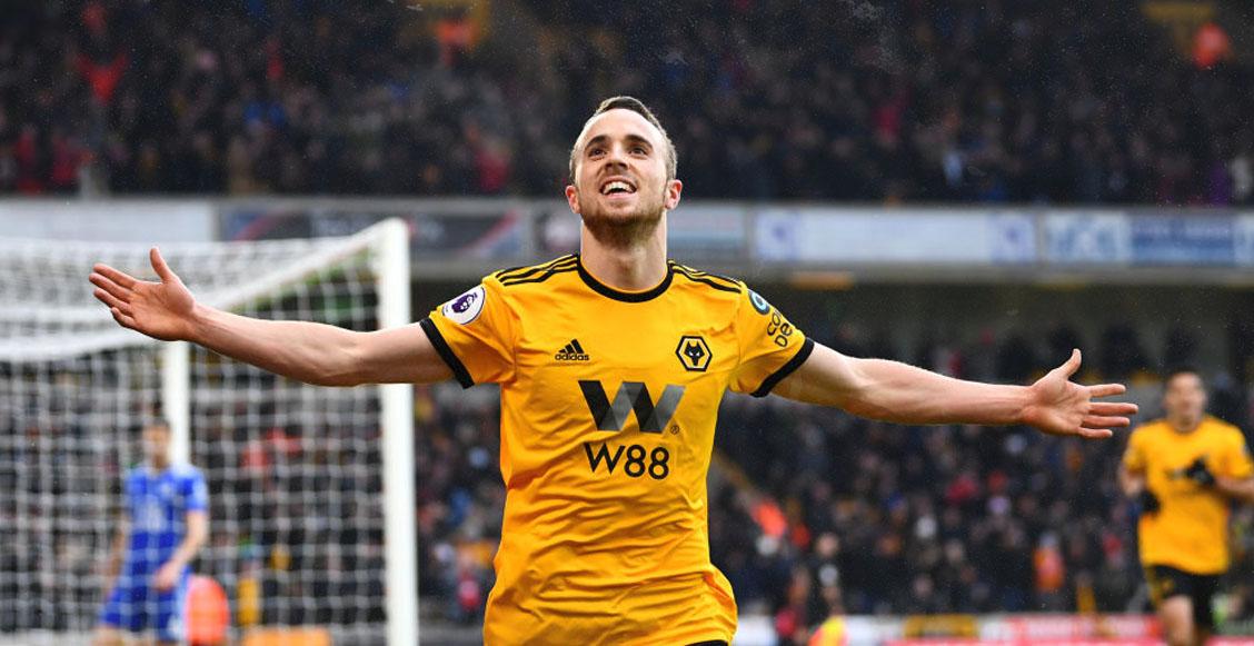 ¡Nuevo ídolo! Diogo Jota y su hat-trick salvaron al Wolverhampton contra Leicester