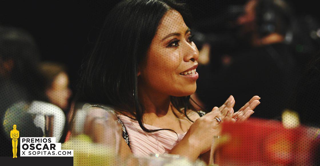 Esta fue la reacción de Yalitza Aparicio al enterarse de su nominación al Oscar 2019
