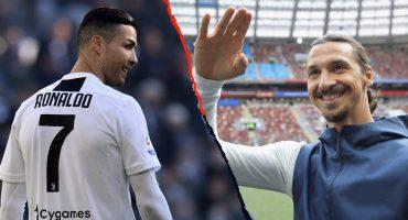 ¡Tsss! Zlatan criticó a Cristiano: