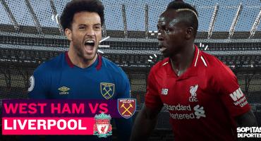 Premier League EN VIVO: El West Ham de 'Chicharito' se mide al poderoso Liverpool