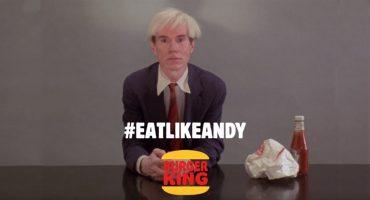 La historia del comercial de Andy Warhol y la hamburguesa de Burger King