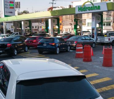 Solo en febrero el precio de las gasolinas en la CDMX aumentó un 6%