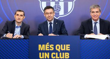 ¡Se queda! Barcelona anunció la renovación de Ernesto Valverde