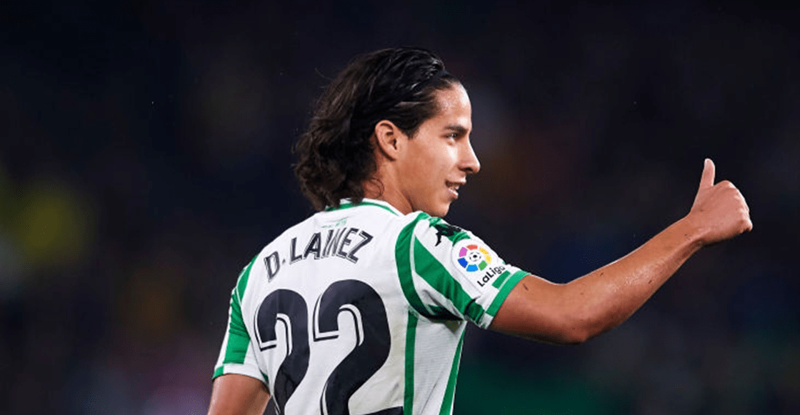¿Debut europeo? Betis registró a Diego Lainez para la Europa League
