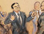 """Dice abogado que el Chapo se comportó como """"todo un macho"""" durante el juicio"""