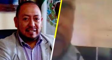 Cachan a alcalde de Zitlaltepec con una supuesta sexoservidora, lo acusan de trata de personas