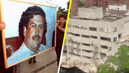 'Adiós' a Escobar: en Medellín, Colombia, demuelen el edificio Mónaco, símbolo del narcoterrorismo